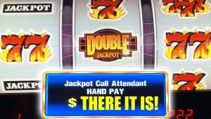 DOUBLE JACKPOT BLAZING 7 WINNER ★ HIGH boundary HANDPAY ➜ large WINS AT large BETS