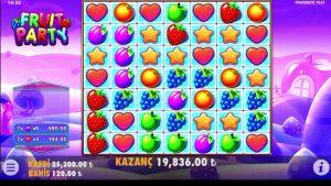 FruitParty l Bu Oyun Delirmiş Aga Yine Patlattık , large Win #casino bonus #slot