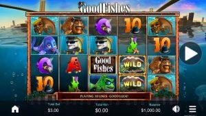 Slotová hra GoodFish - Bonusové zapalování v kasinu - velká výhra! 🎰