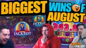 HUGE SLOT HITS! Fruity Slots August Highlights!