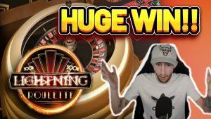 HUGE WIN! LIGHTNING ROULETTE large WIN – casino bonus Slot from CasinoDaddys LIVE flow (OLD WIN)