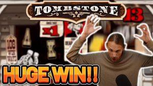 OGROMNA POBJEDA! TOMBSTONE veliki WIN - casino bonus Slot od CasinoDaddys LIVE trenutne