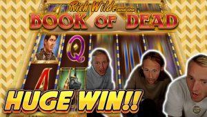 HUGE WIN! volume OF DEAD large WIN –  casino bonus Slots from Casinodaddy LIVE flow