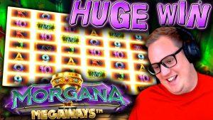Huge Win on Morgana Megaways! (novel Slot)