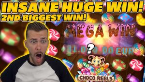 INSANE HUGE WIN on CHOCO REELS! 2d BIGGEST WIN EVER! €50 STAKE!