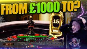 INSANE LIGHTNING ROULETTE STREAK!! Roulette large Win!