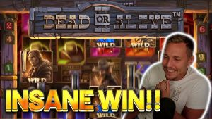 INSANE WIN! DEAD OR live 2 large WIN –  casino bonus Slots from Casinodaddy LIVE current