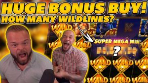 INSANE large WIN on SERENGETI KINGS! BONUS purchase together with ALOT OF WILDLINES! large WIN on Online Slots!