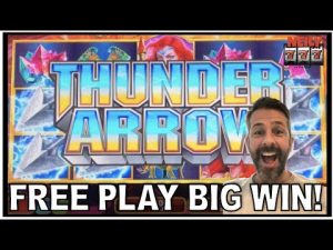 IT TOOK JUST 2 SPINS TO dry soil A large WIN with my release PLAY!🏹THUNDER ARROW SLOT MACHINE!