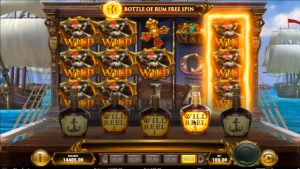 Jolly Roger 2 Slot (All 4 Bonus Features + large Win)