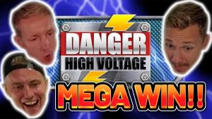 MEGA WIN! DANGER HIGH VOLTAGE large WIN – casino bonus Slot from CasinoDaddys LIVE current