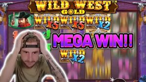 MEGA WIN! WILD westwaarts Au groot WIN - casinobonusspel van Casinodaddy LIVE stroom