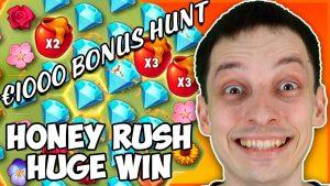 MEGA large WIN HONEY RUSH – BONUS HUNT OPENING RESULTS