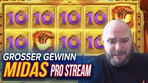 MIDAS GOLDEN wat betreft CRAZY casino bonus WIN / STREAMERS GROOTSTE WINST SLOTS