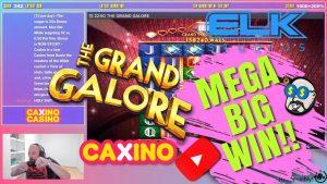 Mega suur võit Grand Galore mänguautomaadilt !!