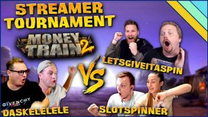 Money prepare 2 Slot – Streamer Tournament! (LetsGiveItASpin vs Slotspinner vs Daskelelele)