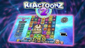 REACTOONZ 2 (PLAY'N GO) veliki WIN