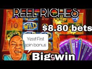REEL RICHES $8.80 spins | foremost Spin Bonus | large Win | Riverspirit casino bonus Tulsa