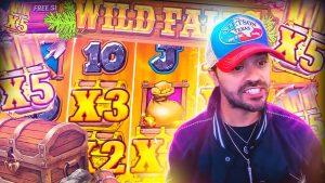 ROSHTEIN Win besar 20.000 € di slot Wild Falls - TOP 5 Mega kemenangan minggu kalendar