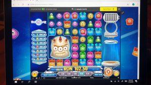 Reactoonz Unibet casino bonus specială grande WIN
