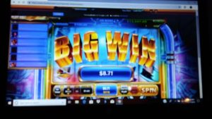 Rockin in addition to reelin Chumba casino bonus large WIN !!!