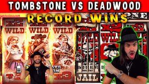 Roshtein - Deadwood vs kabarin kabari! Mega win ciki Online gidan caca bonus!