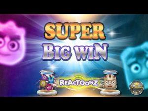 SUPER WIN WIN גדול BEI REACTOONZ (PLAY'N GO) - 5 € EINSATZ!