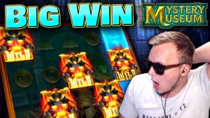 SUPER large WIN on  Mystery Museum!