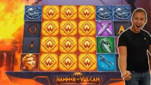 TOP 5 STREAMERS BIGGEST WINS ★ €33,828 MONSTER WIN EVER ON HAMMER OF VULCAN SLOT