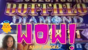 WOW! large WIN BUFFALO DIAMOND! ROCKY cervix BEACH common TOUR close casino bonus CONNECTICUT! rattling NICE!!!