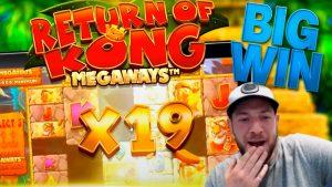 homecoming OF KONG MEGAWAYS large WIN!