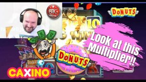 large Multiplier!! Super large Win From Donuts Slot!!