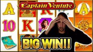 큰 승리! CAPTAIN VENTURE 큰 승리 – Casinodaddy LIVE 플로우의 카지노 보너스 게임