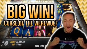 large WIN! CURSE OF THE WEREWOLF large WIN –  Online Slots from Casinodaddy LIVE flow
