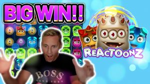 large WIN! REACTOONZ €50 BET large WIN –  casino bonus Slots from Casinodaddy LIVE flow
