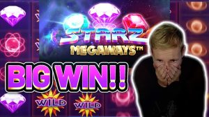 large WIN! STARZ MEGAWAYS large WIN – casino bonus slot from Casinodaddy LIVE flow