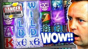 large WIN on DANGER together with BONUS on SLOTS (base of operations Game large WIN !!!)