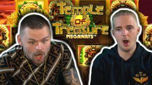 large WIN on TEMPLE OF TREASURE MEGAWAYS – casino bonus Slots large Wins