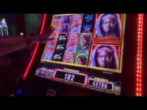 large WIN on The Walking Dead 2 Slot at Tulalip Resort casino bonus!