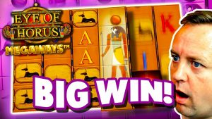 large WIN on oculus Of Horus Megaways HIGH STAKES
