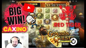 large Win From Gonzo's Quest MegaWays!!