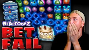 large Win neglect on Reactoonz!