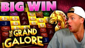 large Win on The Grand Galore! (novel Slot)