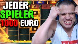 online casino bonus stor gevinst 🔴 Streamer einen 1000 € Bonus bekam und inward einem Online casino bonus gewann