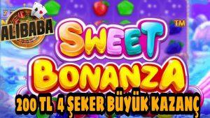элсэн чихэр Bonanza 200 TL Kasa 4 Şeker Büyük Kazanç! #sweetbonanza #bigwin #slot