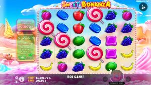 sweetness Bonanza | BİG WİN YİNE AGLATTTIK TEK SPİN 100.000