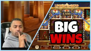 """DER IST GUT AUF HEUTE!"" LEG- LEGACY large WIN & JAMMIN 100 € SPIELE 🤑 - Al Gear casino bonusström Höjdpunkter"