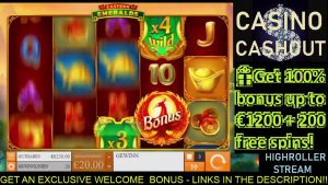 ONLINE SLOT HIGHROLLER kasíno bonus HRAJTE - veľké STÁVKY veľké VYHRÁVA