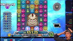 large WIN ON Reactoonz 2 ONLINE SLOT | Best wins of the calendar week casino bonus