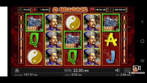 2 DRAGONS casino bonus large WIN BONUS